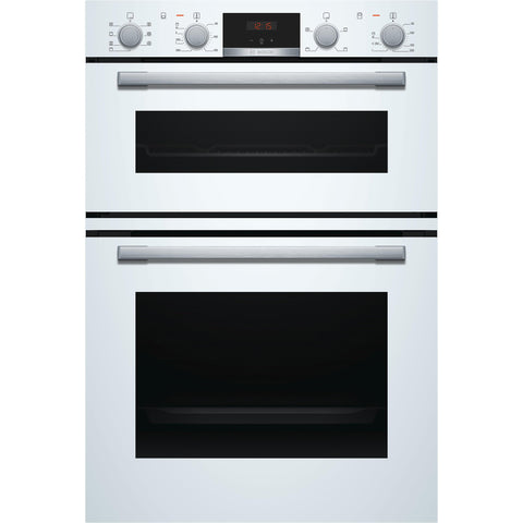 Bosch Series 4 MBS533BW0B Built-in Double Oven White-Appliance People