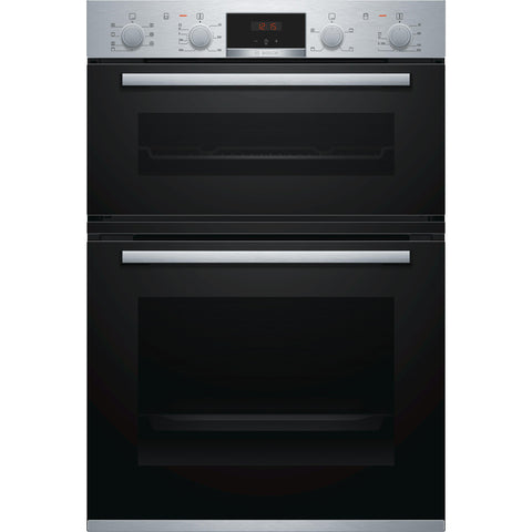 Bosch Series 4 MBS533BS0B Built-in Double Oven Stainless Steel-Appliance People