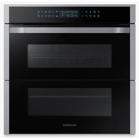 Samsung NV75R7676RS Built In Pyrolytic Dual Cook Flex Single Oven in Stainless Steel