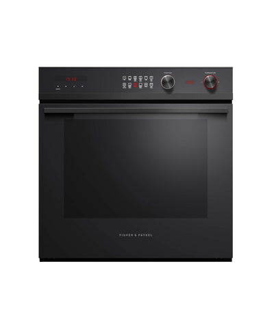 Fisher & Paykel 0B60SD9PB1 60cm Pyrolytic Single Oven in Black Steel