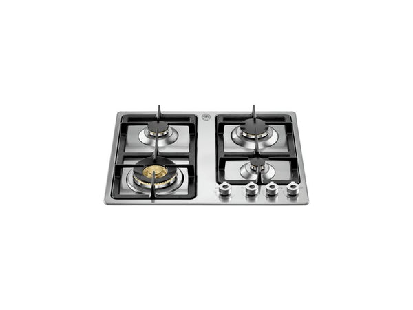 Bertazzoni P680-1-PRO-X Professional Series 60cm 4 Burner Gas Hob in Stainless Steel