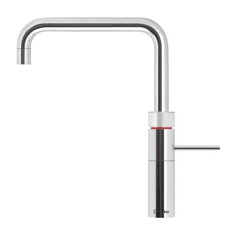 Quooker 3FSCHR PRO3 Fusion Square 3-in-1 Boiling Water Tap in Chrome