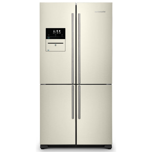 Rangemaster RSXS19IV/C French Style Four Door Fridge Freezer With VSeal in Ivory