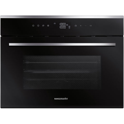 Rangemaster RMB45SCBL/SS 45CM BUILT-IN STEAM COMBI OVEN 112310