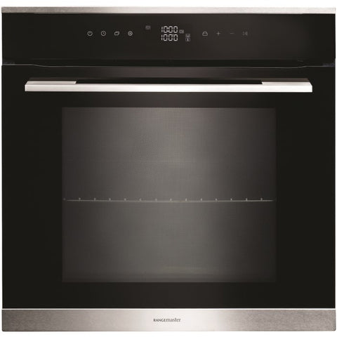 Rangemaster RMB610BL/SS 60CM BUILT-IN 10 FUNCTION SINGLE OVEN 112150