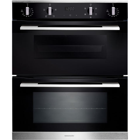Rangemaster RMB7248BL/SS 72CM BUILT-UNDER 4/8 FUNCTIONS DOUBLE 112180