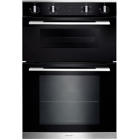 Rangemaster RMB9045BL/SS 90CM BUILT-IN 4/5 FUNCTIONS DOUBLE OVEN * * LAST ONE LEFT AT THIS PRICE * *
