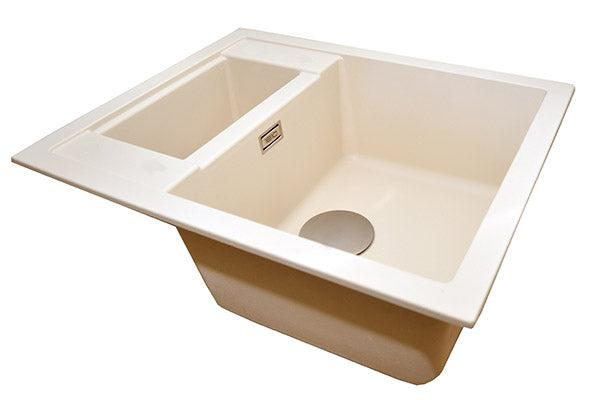 The 1810 Company SHARDUNO 615i Inset Sink Champagne-Appliance People
