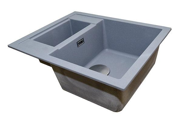 The 1810 Company SHARDUNO 615i Inset Sink Metallic Grey-Appliance People