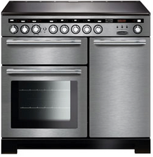 Rangemaster EDL100EISS/C Encore Deluxe 100cm Induction Range Cooker Stainless Steel-Appliance People