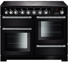 Rangemaster EDL110EIBL/C Encore Deluxe 110cm Induction Range Cooker Black-Appliance People