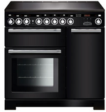 Rangemaster EDL90EIBL/C Encore Deluxe 90cm Induction Range Cooker Black-Appliance People