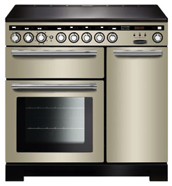 Rangemaster EDL90EIIV/C Encore Deluxe 90cm Induction Range Cooker Ivory-Appliance People