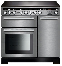 Rangemaster EDL90EISS/C Encore Deluxe 90cm Induction Range Cooker Stainless Steel-Appliance People
