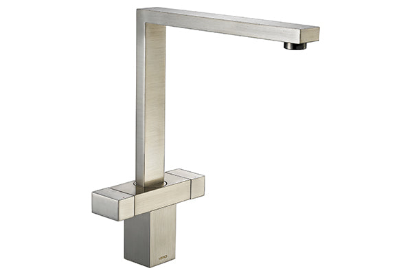 The 1810 Company VESARE SQUARE DESIGN Tap Brushed Steel-Appliance People