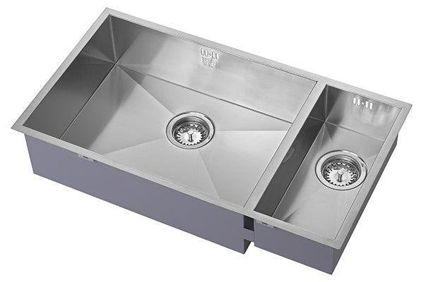 The 1810 Company ZENDUO 550/180U BBL Undermount Sink Stainless Steel-Appliance People