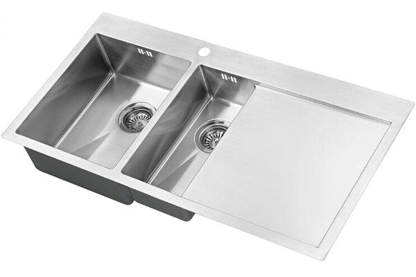 The 1810 Company ZENDUO 6 I-F 15R BBL Undermount Sink Stainless Steel-Appliance People