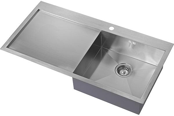 The 1810 Company ZENUNO 5 I-F BBR Inset Sink Stainless Steel-Appliance People