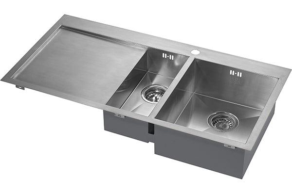 The 1810 Company ZENDUO 6 I-F BBR Inset Sink Stainless Steel-Appliance People