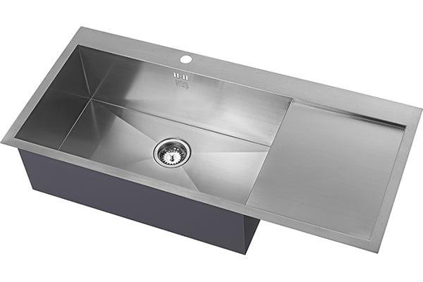 The 1810 Company ZENUNO 70 I-F DEEP BBL Inset Sink Stainless Steel-Appliance People