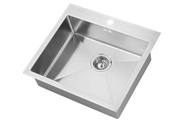 The 1810 Company ZENUNO 500 I-F 15R Undermount Sink Stainless Steel-Appliance People