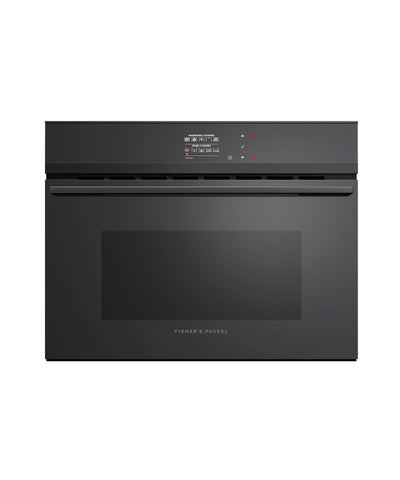 Fisher Paykel OS60NDBB1 60cm Built In Combination Steam Oven in Black Steel