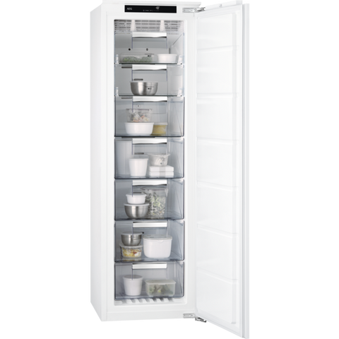 AEG ABS8182VNC Frost Free Built-in Upright Freezers-Appliance People