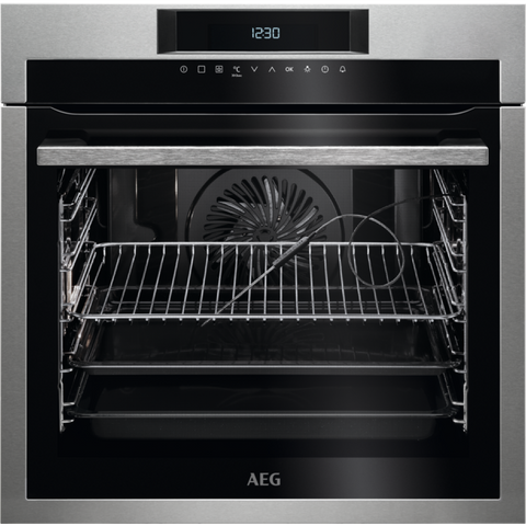 AEG BPE642020M SenseCook Electric Oven Stainless Steel-Appliance People