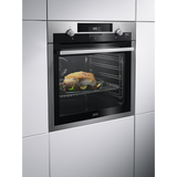 AEG BPS551220M SteamBake Electric Oven Stainless Steel-Appliance People