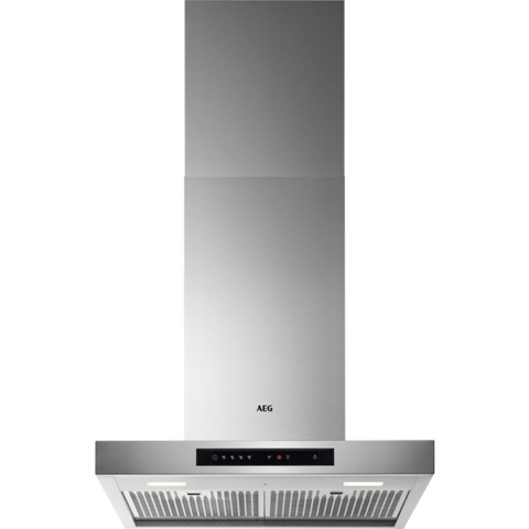AEG DBE6680HM Chimney hood Stainless Steel-Appliance People