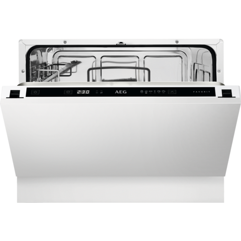 AEG FSE21200P Residual drying Built-in Compact Dishwasher-Appliance People