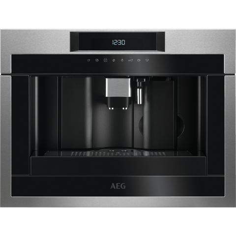AEG KKE884500M Integrated coffee machine Stainless steel-Appliance People