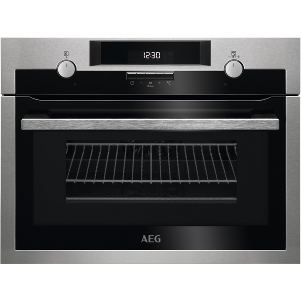 AEG KME561000M CombiQuick Compact Oven Stainless Steel-Appliance People
