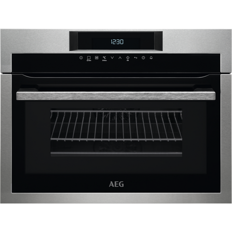 AEG KME761000M CombiQuick Compact Oven Stainless Steel-Appliance People