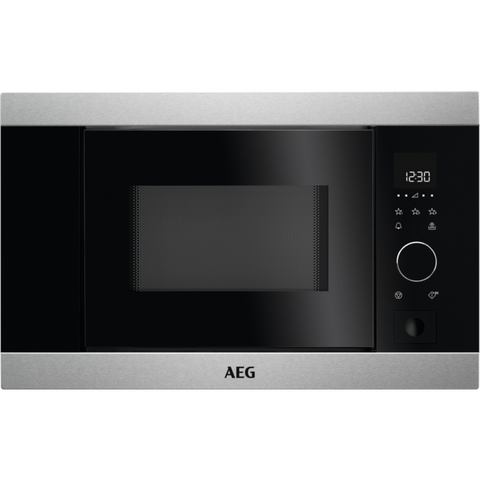 AEG MBB1756S-M Built-in Microwave with Microwave Function Stainless Steel-Appliance People