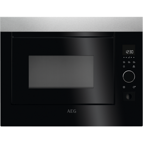AEG MBE2658S-M Built-in Microwave Stainless Steel-Appliance People