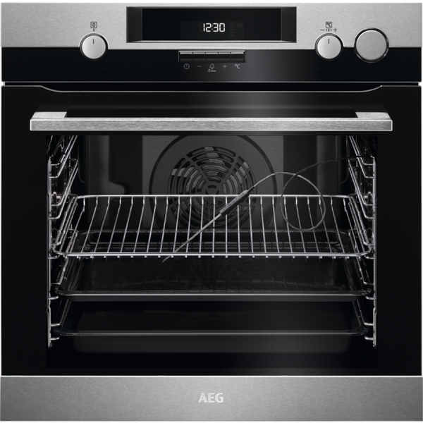 AEG BSK574221M Built In Electric Single Oven with added Steam Function - Stainless Steel - A+ Rated ** Limited Stock ** **SAVE A FURTHER £40 THIS WEEKEND ONLY WITH CODE BEB40**