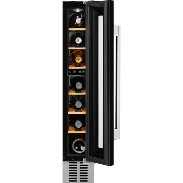 AEG SWE61501DG Built-in Under Counter Refrigerator Wine cooler Black-Appliance People