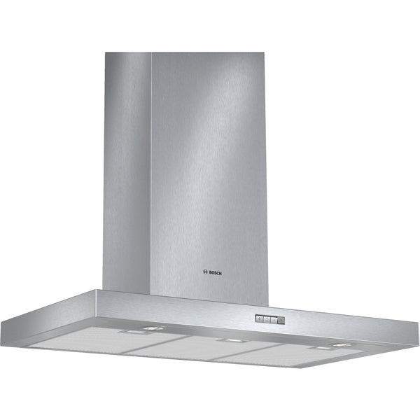 Bosch DWB094W50B 90cm Chimney Hood Stainless Steel-Appliance People