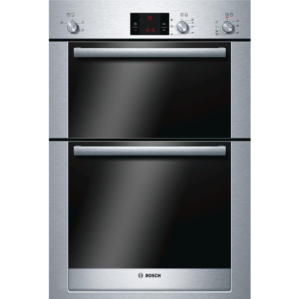 Bosch HBM13B550B 60cm Built-in Double Oven Stainless Steel-Appliance People