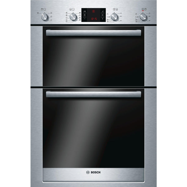Bosch HBM53R550B 60cm Built-in Double Oven Stainless Steel-Appliance People