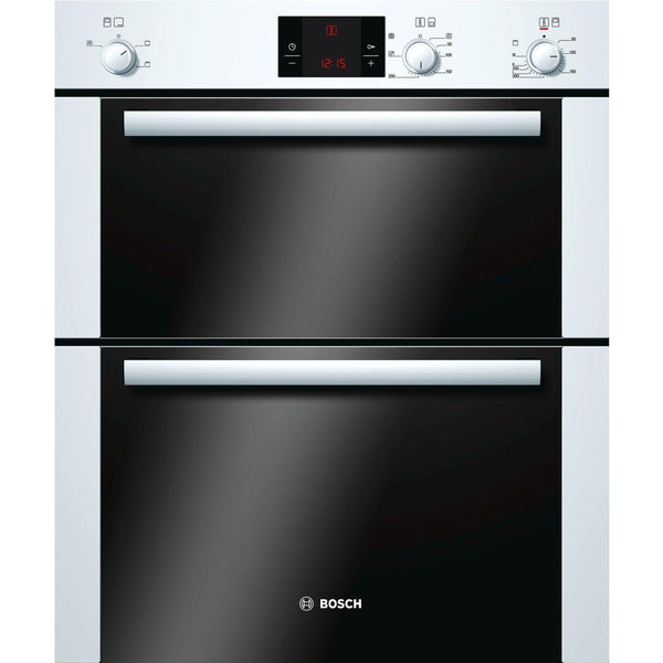 Bosch HBN13B221B 60cm Built-under Double Oven White-Appliance People