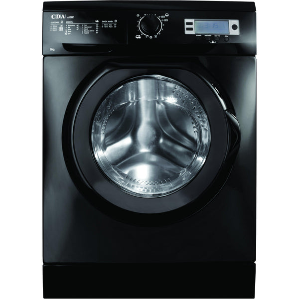 CDA CI261BL Freestanding washing machine Black-Appliance People