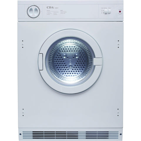 CDA CI921 Integrated tumble dryer White-Appliance People
