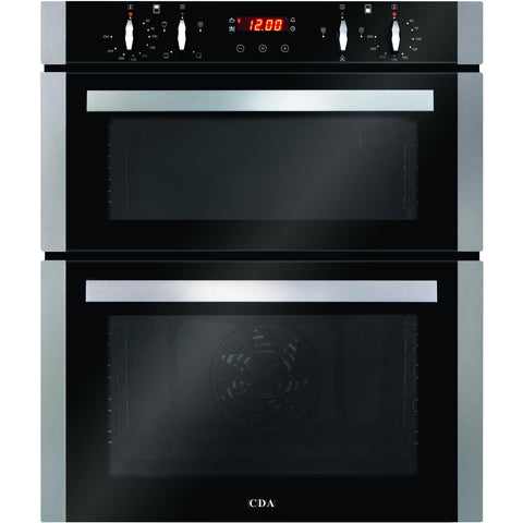 CDA DC740SS Double built-under oven Stainless Steel-Appliance People