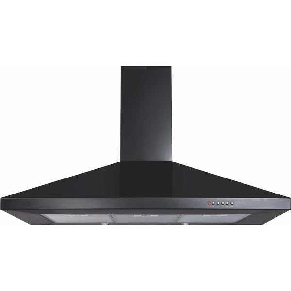 CDA ECH101BL 100cm chimney extractor Black-Appliance People