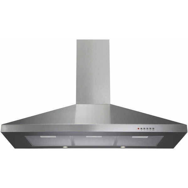 CDA ECH101SS 100cm chimney extractor Stainless Steel-Appliance People