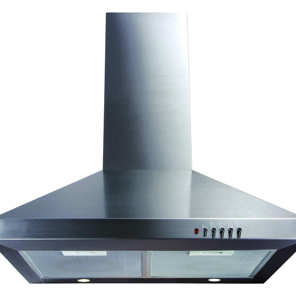 CDA ECH61SS 60cm chimney extractor Stainless Steel-Appliance People