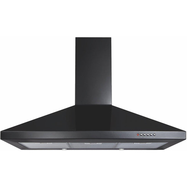 CDA ECH91BL 90cm chimney extractor Black-Appliance People