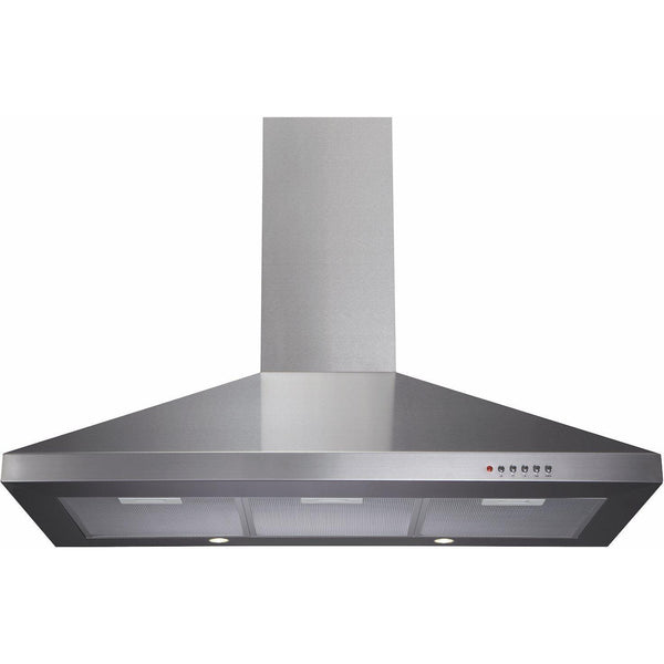 CDA ECH91SS 90cm chimney extractor Stainless Steel-Appliance People